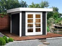 Weka Gartenhaus 126 Plus Gr. 2 anthrazit