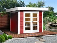 Weka Gartenhaus 126 Gr. 1 schwedenrot