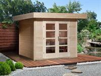 Weka Gartenhaus 126 Gr. 1 natur