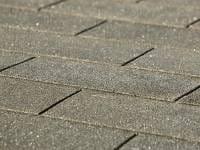 Bitumen-Dachschindeln Rechteck anthrazit