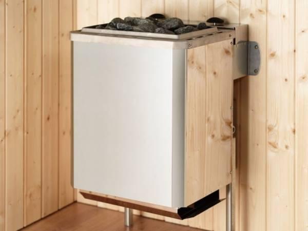 Weka Ofenset 11 - 9,0 kW Kompakt-Ofen, integr. Steuerung, Kabel, Steinen