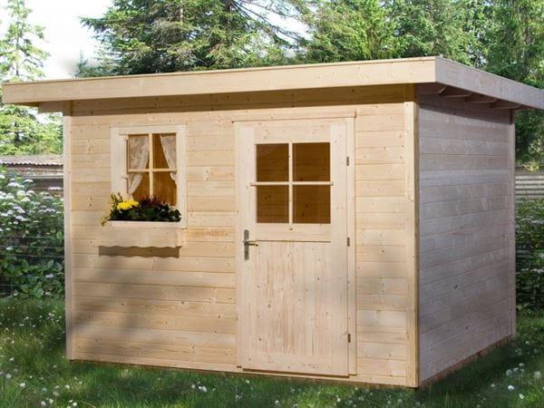 Weka Gartenhaus 170 Größe 3