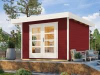 Weka Gartenhaus 126 Gr. 2 schwedenrot
