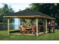 Weka Pavillon Gartenoase 651 D Größe 3