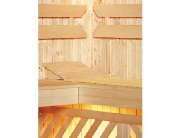 Weka Sauna Komfortpaket 3