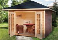 Weka Gartenhaus 177 4-Eck Größe 1