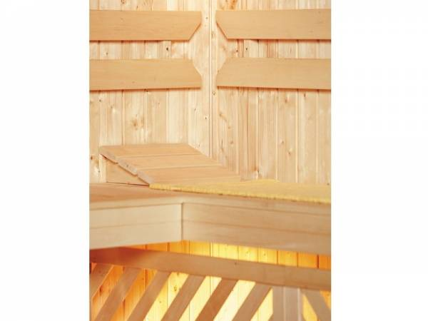Weka Sauna Komfortpaket 1