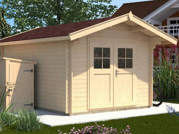 Weka Gartenhaus 112 Gr 2 Vordach 60 cm