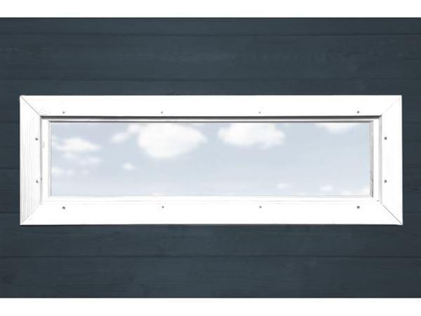 Weka Zusatzfenster schmal weiss 40 x 125 cm