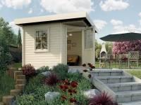 Weka Gartenhaus 213 Plus Gr 1 natur