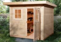 Weka Gartenhaus 170 Größe 1