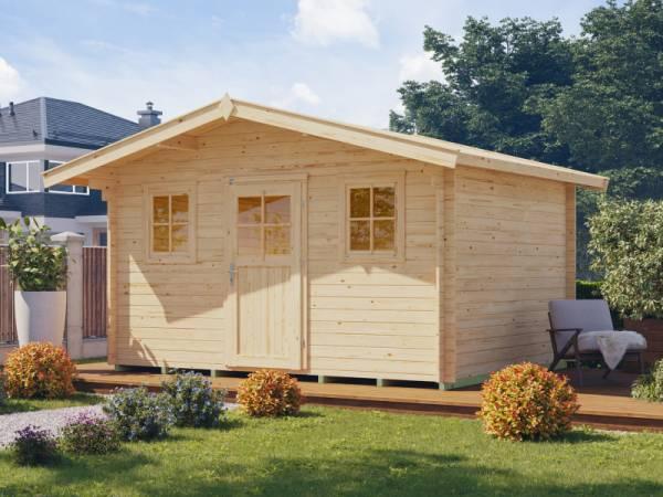 Weka Gartenhaus Konstanz 1 Gr. 2 Vordach 60 cm