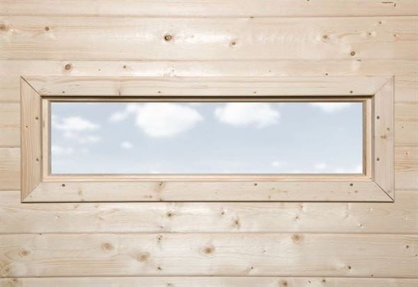 Weka Einzelfenster schmal B 97 x H 33 cm