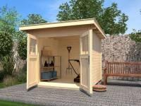 Weka Gartenhaus 179 Größe 1 naturbelassen