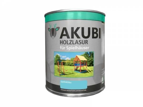 Akubi Farbe Karibikblau 750 ml