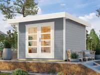 Weka Gartenhaus 126 Gr. 3 grau