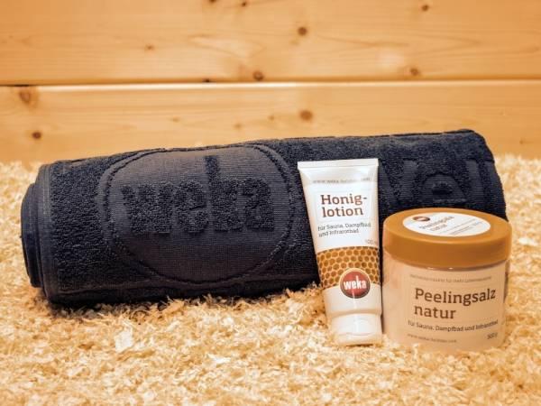 Weka Sauna Geschenk Set Verwöhn dich