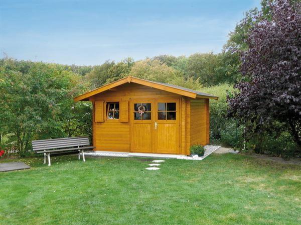 Weka Gartenhaus 109 Gr. 1 Vordach 60 cm