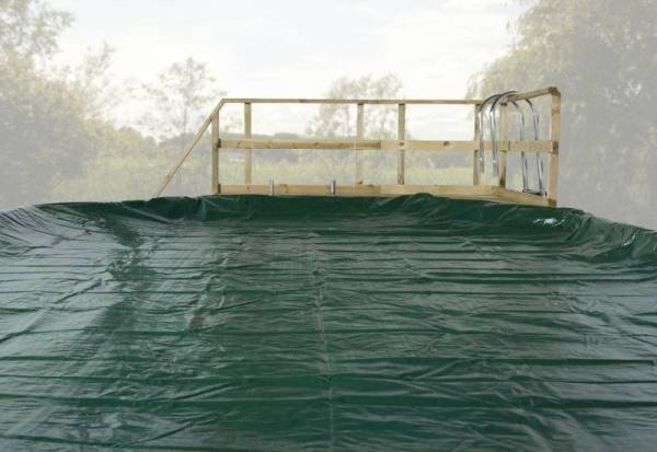 Weka Abdeckplane für Pool 593 A und 593 B Gr. 1