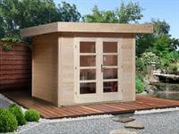 Weka Gartenhaus 126 Plus Gr. 1 natur
