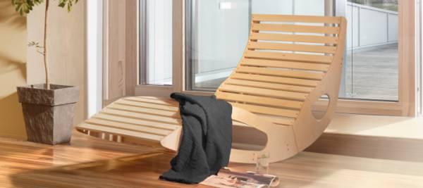 Sauna Innenausstattung