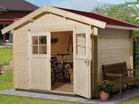 Weka Gartenhaus 112 Gr 3 Vordach 20 cm