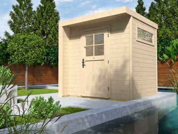 Weka Design-Gartenhaus 262