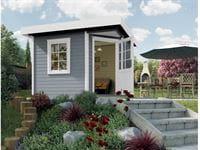 Weka Gartenhaus 5-Eck-Haus 213 Gr 2 grau