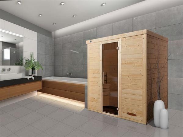 Weka Sauna Kemi 3 GT ohne Ofen