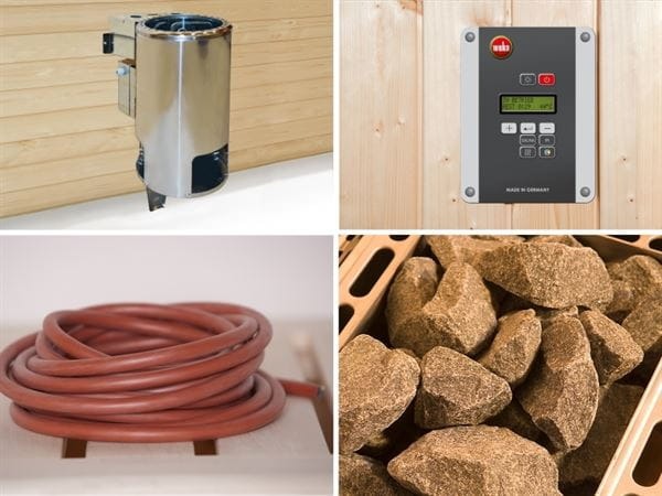Weka Saunaofenset 5- 3,6 kW BioS 230 V