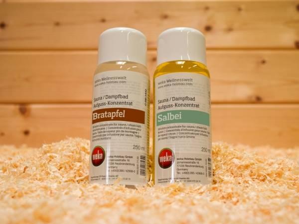 Weka Sauna Duftpaket Bratapfel und Salbei (250 ml)