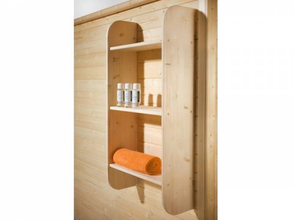 Weka Sauna Universal Schrankregal
