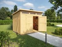 Weka Gartenhaus 264 Gr. 3 21 mm natur
