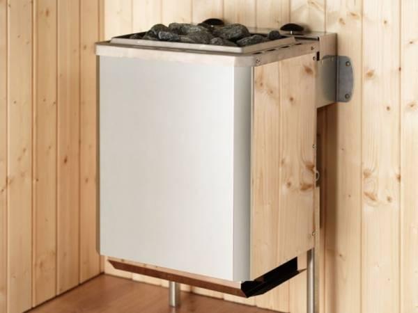 Weka Ofenset 8 - 9,0 kW BioAktiv Ofen, ext. Steuerung, Kabel, Steinen