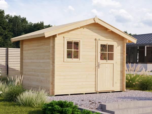Weka Gartenhaus 107 Gr 2 Vordach 20 cm 28 mm
