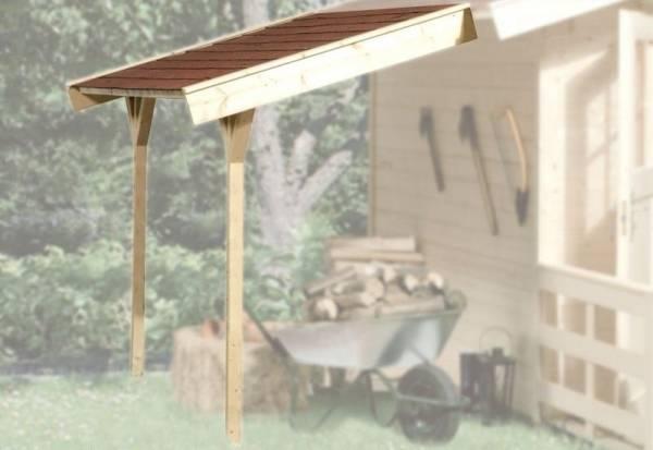 Weka Schleppdach für BBH ab Haustiefe 300 cm