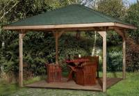 Weka Pavillon Gartenoase 651 A Größe 1