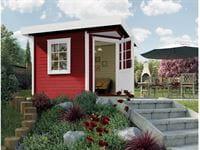 Weka Gartenhaus 5-Eck-Haus 213 Gr 1 schwedenrot