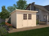 Weka Gartenhaus 219 Größe 3 28 mm natur