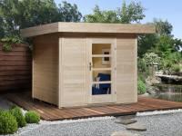 Weka Gartenhaus 172 Größe 1 natur