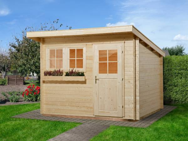 Weka Gartenhaus 116 Größe 1 28 mm