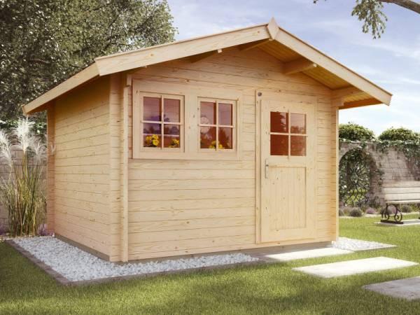 Weka Gartenhaus 139 Gr. 2 Vordach 60 cm
