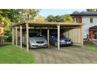 Weka Carport 618 Größe 2 ohne Dachplatten