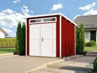 Weka Gartenhaus 264 Gr. 2 21 mm schwedenrot