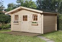 Weka Gartenhaus 138 Gr. 1 Vordach 60 cm