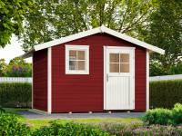 Weka Gartenhaus 123 Gr. 3 schwedenrot