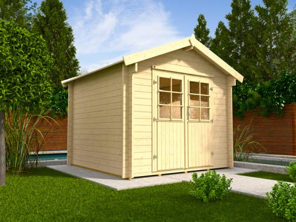 Weka Gartenhaus 132 A Größe 1 38 mm