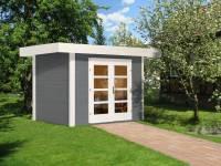 Weka Gartenhaus 126 Gr. 1 grau