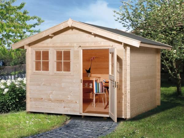 Weka Gartenhaus 139 Gr. 3 Vordach 20 cm