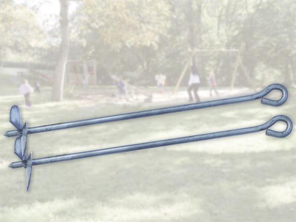 Weka Befestigungsanker Set 1 für Kinderspielgeräte